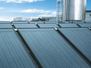 Maharishi solar technology - solar panel water heater