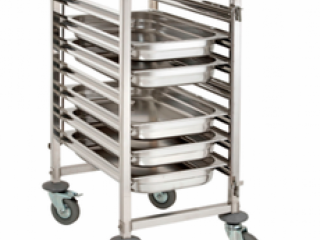 Zeneth Kitchen Equipment Pvt Ltd - Manufacturer kitchen tray trolleys