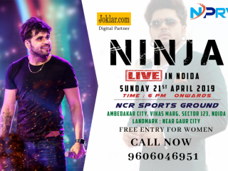 Ninja Live Concert - Free Entry For Women