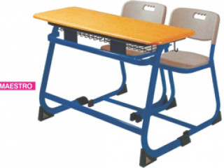 New Golden Furnishers - Double Desk & Chairs manufacturers