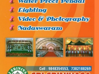 Party planners - Sri Srinivasa catering services