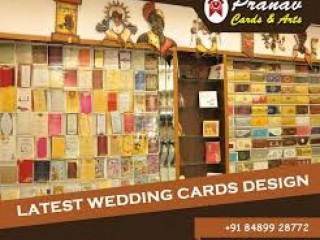 Wedding cards printers- PRANAV CARDS & ARTS