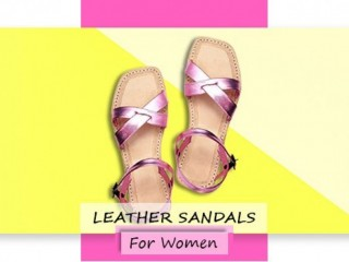 Attractive handmade leather sandals - Divyam Leather Crafts