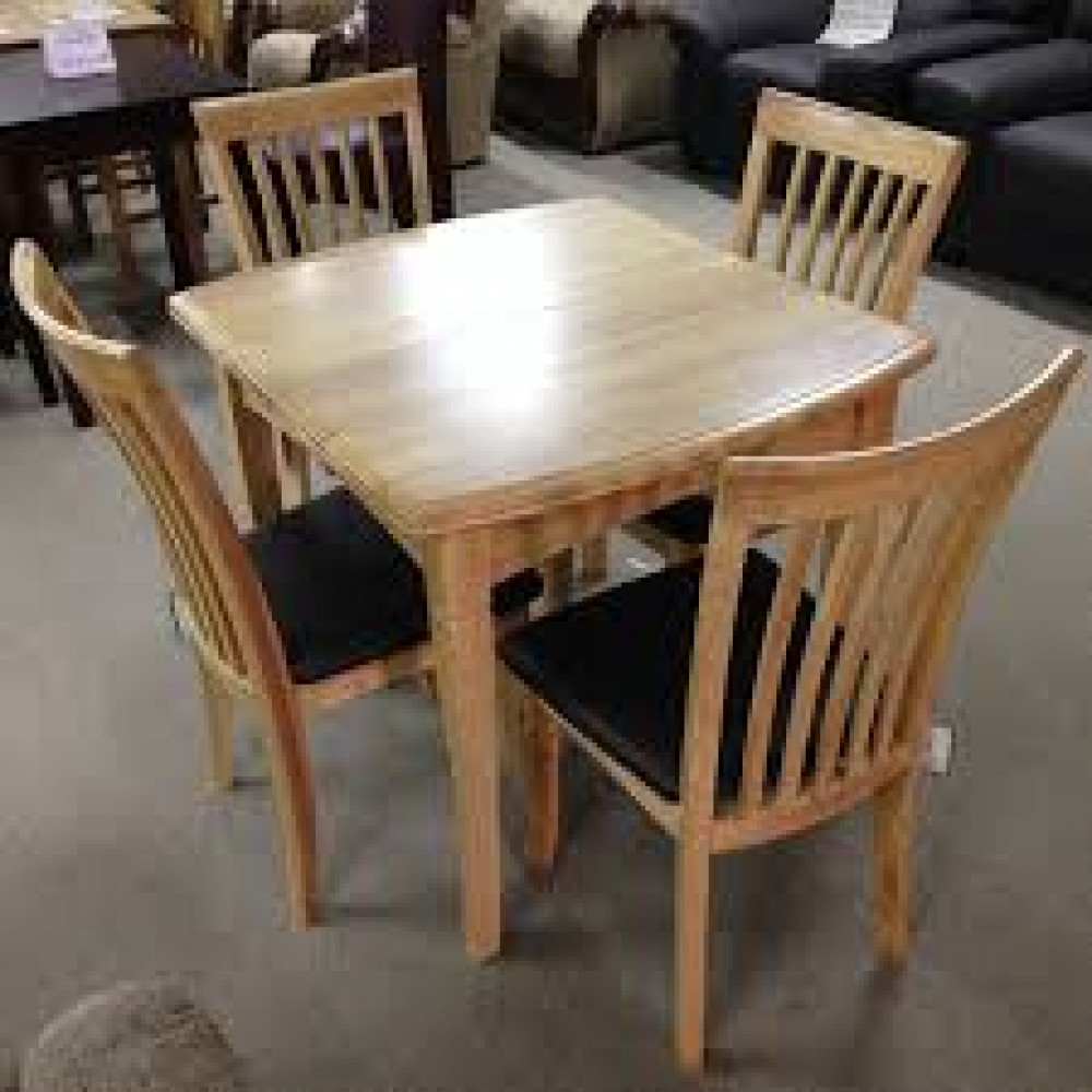 Kitchen Tables For Sale Cheap: 4 Seater Wooden Dining Table For Sale